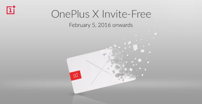 OnePlus X invite free in India