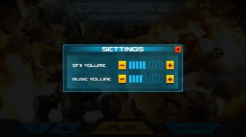 Epic War TD 2 Android 2 - Home