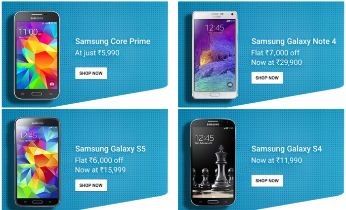 Samsung S4 S5 Note 4 sale