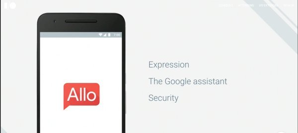Google Allo messenger