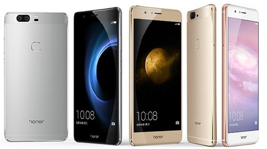 Huawei Honor V8 colors