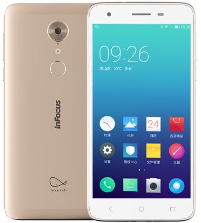 Infocus S1  - Infocus S1 with 4 GB RAM, fingerprint sensor launched in China for 999 Yuan