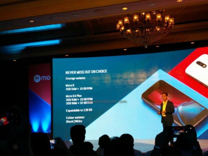 Moto G4 Plus variants