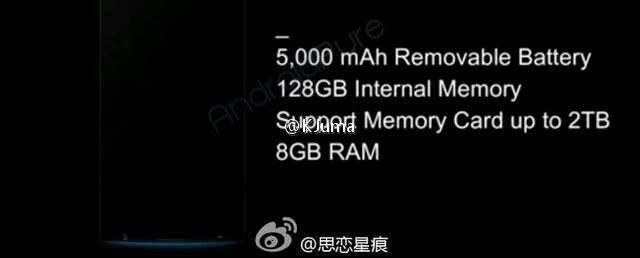 Oppo Find 9 specs-battery