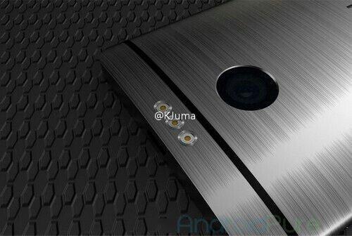 HTC Hecate camera flash