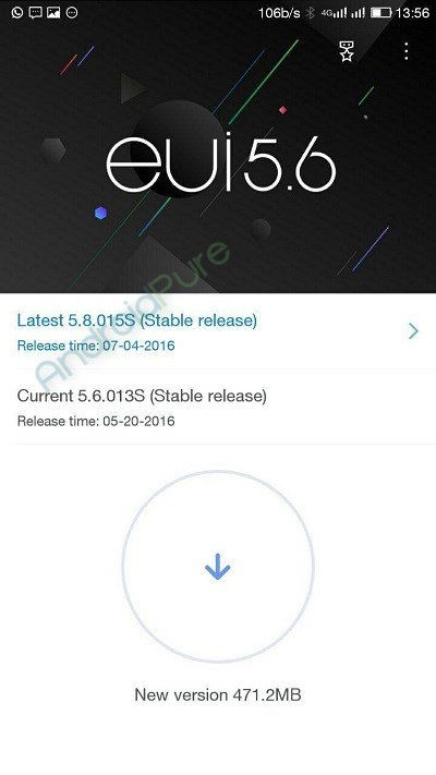 Le 2 eui 5.8 OTA update - LeEco Le 2 getting EUI 5.8 OTA update: fixes camera, adds App lock using fingerprint