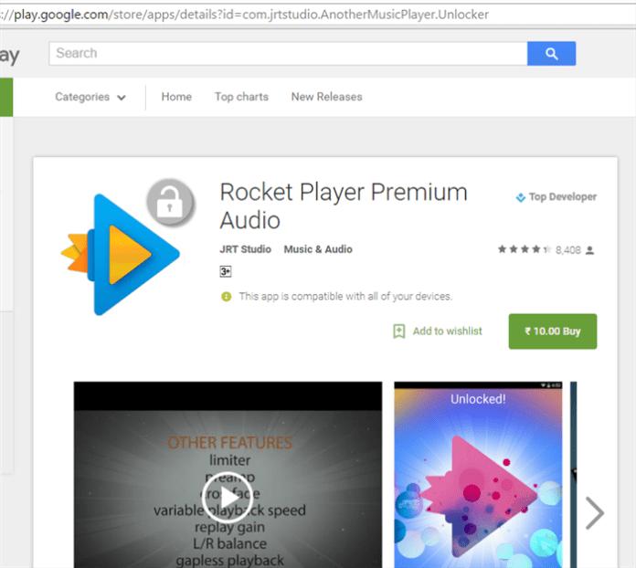 Rocket player premium