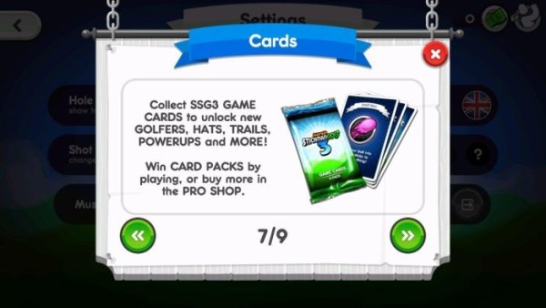 Super StickMan Golf 3 Cards