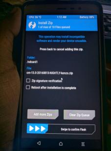 Redmi Note 3 TWRP Install 2 - How to flash Official Cyanogenmod 13 on the Redmi Note 3 Snapdragon