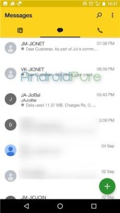 Jio4GVoice Beta 6 - JioJoin app renamed to Jio4GVoice (Beta), brings a new UI with it