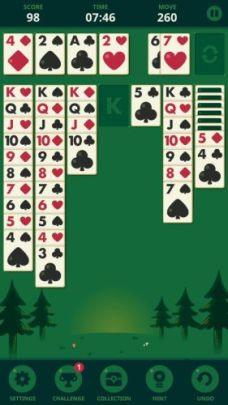 Solitaire Decked Out Ad Free background 2 - Solitaire: Decked Out Ad Free is the best version of Patience/Klondike card game ever made