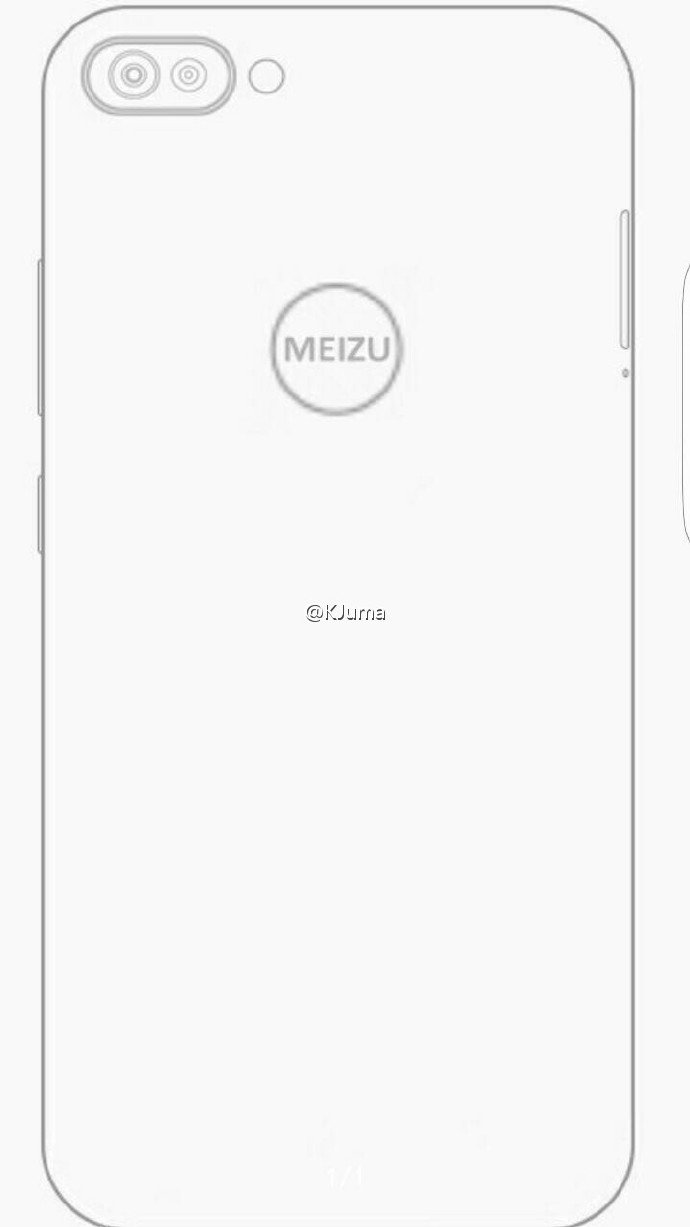 mysterious meizu phone sketches with dual camera surface online  u2013 androidpure