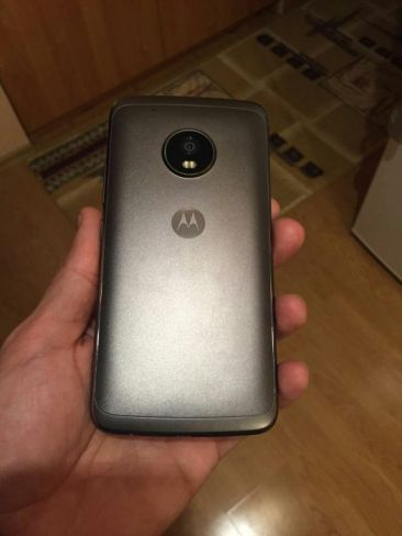 Moto G5 Plus back