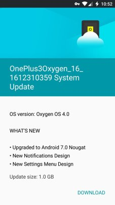 OnePlus 3 OTA Nougat - Android 7.0 Nougat stable OTA update rolling out for OnePlus 3, OnePlus 3T