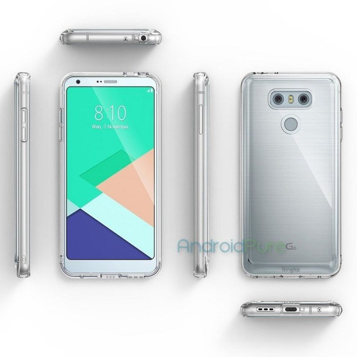 LG G6 g Exclusive: LG G6 Case renders leak, reveal the design 1