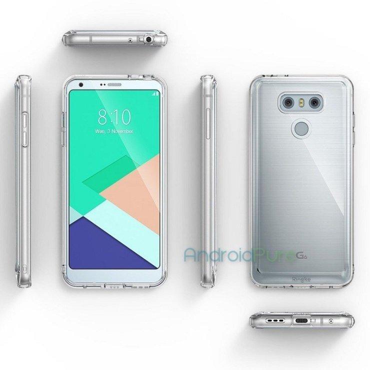 Zeigt sich hier das LG G6 in einer Silikon-Schutzhülle? (Quelle: androidpure)