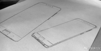 Xiaomi Mi6 - Alleged Xiaomi Mi 6 Sketches indicate Dual camera setup at back