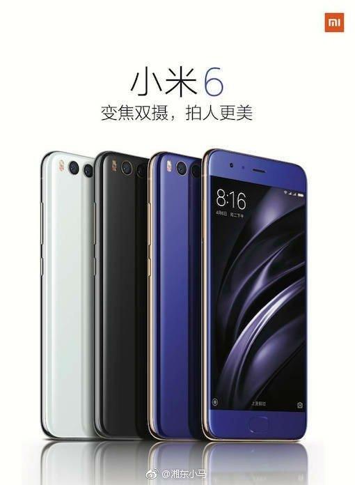 Xiaomi Mi 6 4 - Xiaomi Mi 6 Renders, Specs, Real Images, Handson Video leak ahead of official launch