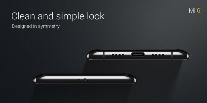 "Xiaomi Mi 6 USB C port - Xiaomi Mi 6 launched with 5.15"" FHD, SD 835, 6 GB RAM, 12 MP dual cameras, No Audio Jack"