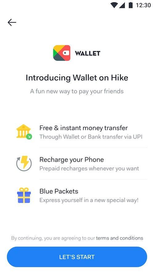 Hike 5.0 Wallet - Hike 5.0 update brings Hike Wallet and new features