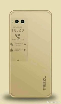 Meizu Pro 7 a Alleged Meizu Pro 7 Press Renders with Dual Camera and Dual Screen leak 10