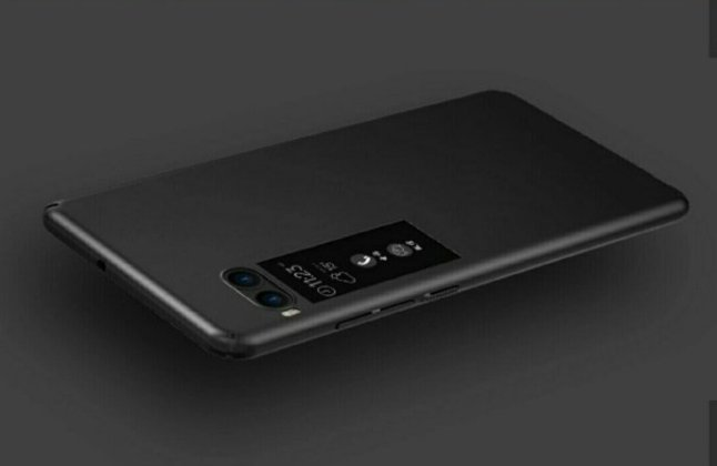 Meizu Pro 7 c Alleged Meizu Pro 7 Press Renders with Dual Camera and Dual Screen leak 4