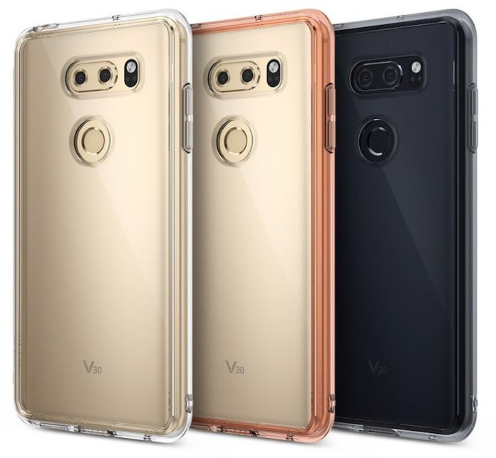 LG V30 Case LG V30 case leak reveals the rear panel design 1