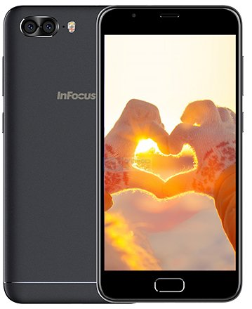 Infocus Turbo 5 Plus b - Exclusive: Press Renders of InFocus Turbo 5 Plus with Dual Camera