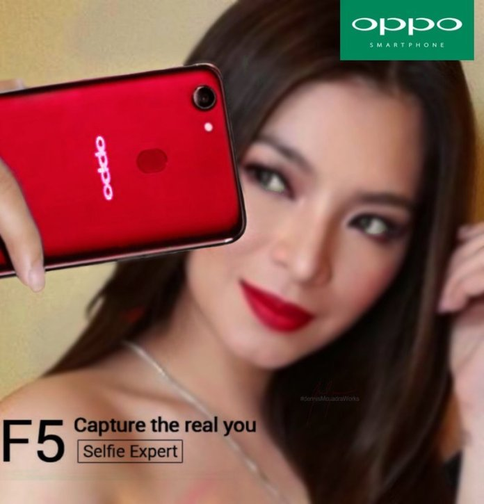 Oppo F5 Red - Alleged Oppo F5 Renders leak ahead of official launch