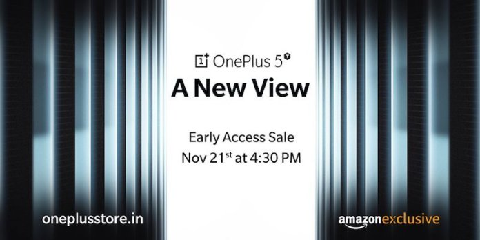 OnePlus 5T Amazon - It's Official: OnePlus 5T to be unveiled on Nov 16, Amazon India Exclusive