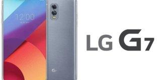 Rumored design of LG G7