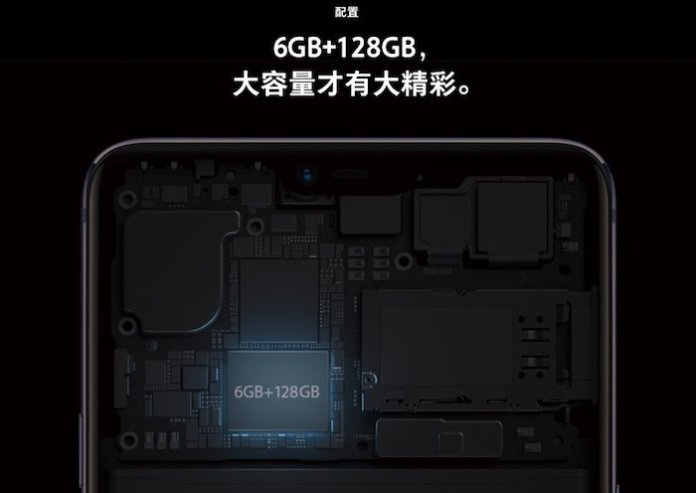 Oppo R15 RAM Oppo R15 confirmed to feature 19:9 Display, 6GB RAM and 128GB Storage 2