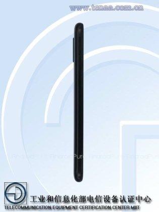 Moto One c Renders of Motorola Moto One Power with 4850mAh battery surface on TENAA 3