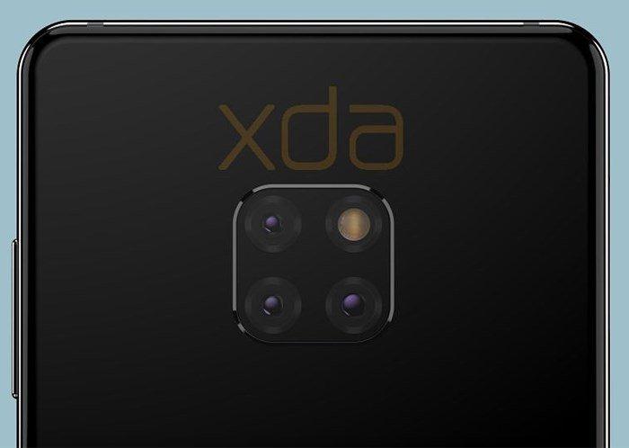 Huawei Mate 20 triple cameras