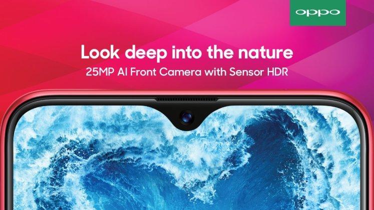 Oppo f9 pro camera