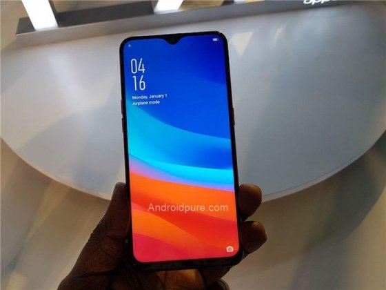 Oppo f9 pro hands-on 2
