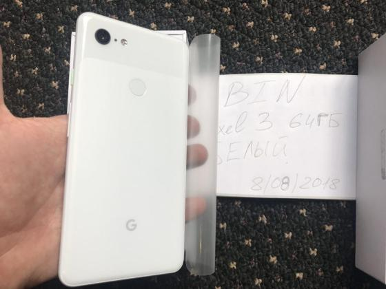 Pixel 3 XL c Google Pixel 3 XL Real images and hands-on Video surface 3