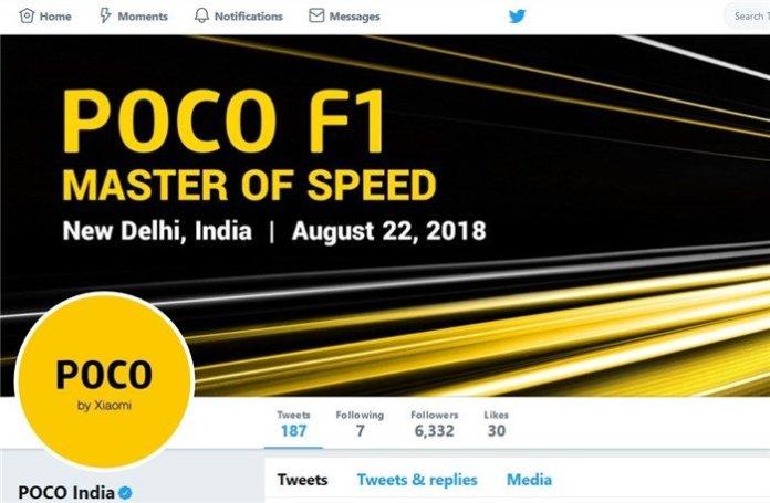 Poco F1 India Twitter