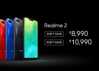 Realme 2 India launch price
