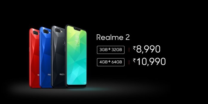 Realme 2 India launch price
