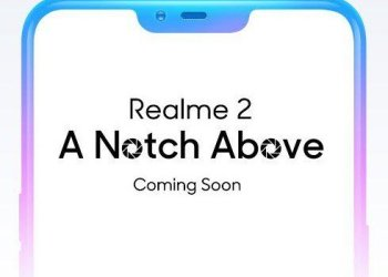 Realme 2 Notch display