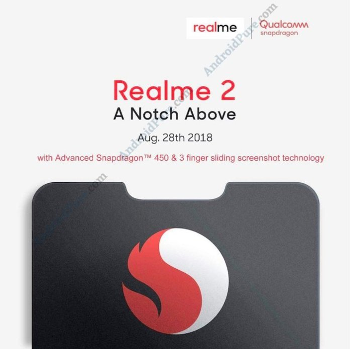 Realme 2 Snapdragon 850 2 Realme 2 Full Specifications leak, features Snapdragon 450 [Updated] 2 Leaks | News | Phones