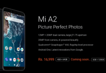 Xiaomi Mi A2 Android One India price