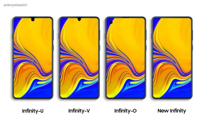 Infinity Display leaked designs