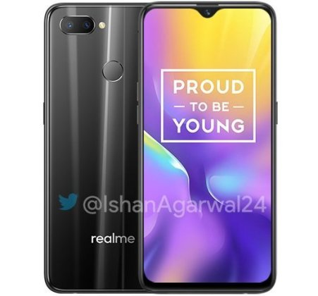 Realme U1 black Realme U1 with 6.3-inch FHD+ waterdrop display, 25MP selfie camera launched in India starting at Rs. 11,999 3
