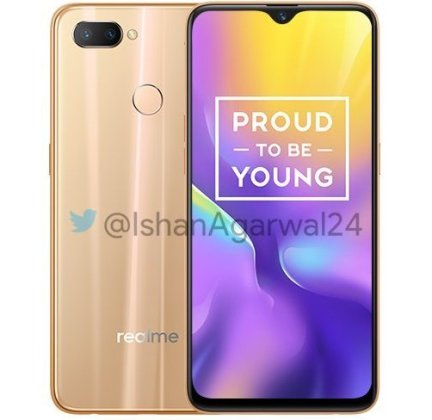 Realme U1 gold Realme U1 with 6.3-inch FHD+ waterdrop display, 25MP selfie camera launched in India starting at Rs. 11,999 2