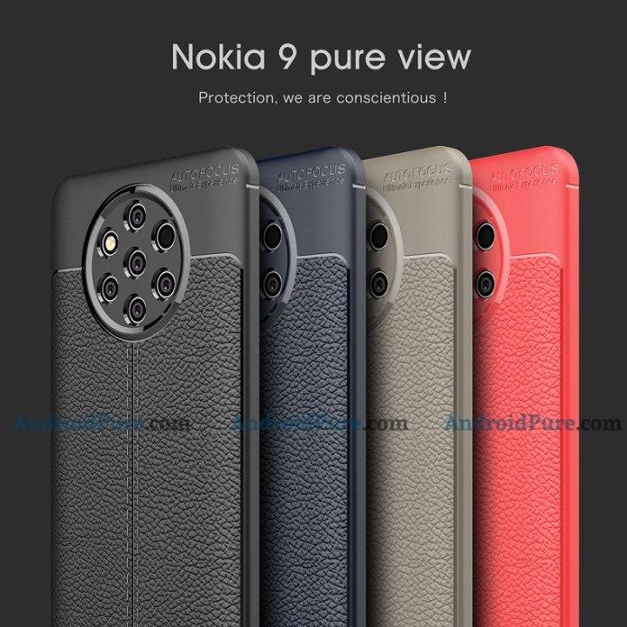 Nokia 9 case Exclusive: Nokia 9 Case images confirm the Penta-Lens Camera 3