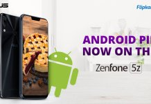 Android Pie Update for ASUS Zenfone 5Z