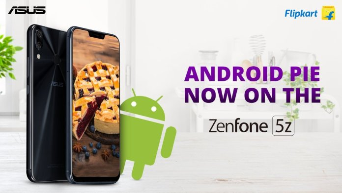 Android Pie Update for Zenfone 5Z