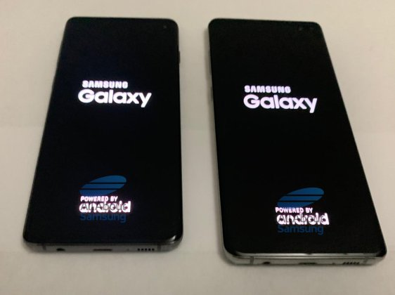 Galaxy S10 Live Image 7 1 More Samsung Galaxy S10, S10+ prototypes real life photos leak, reveal design 4